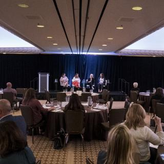 Panel discussion at the 2019 CMO Summit
