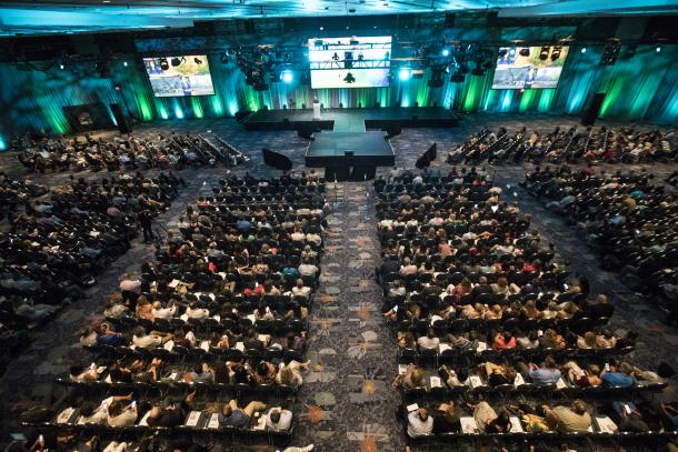 General session audience at the 2018 Annual Convention