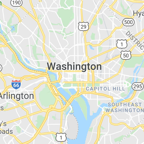 Washington DC map icon