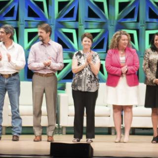 DMAP recipients on stage at the 2017 Annual Convention