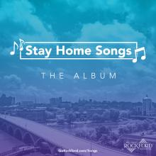 RACVB Stay at Home Songs album cover