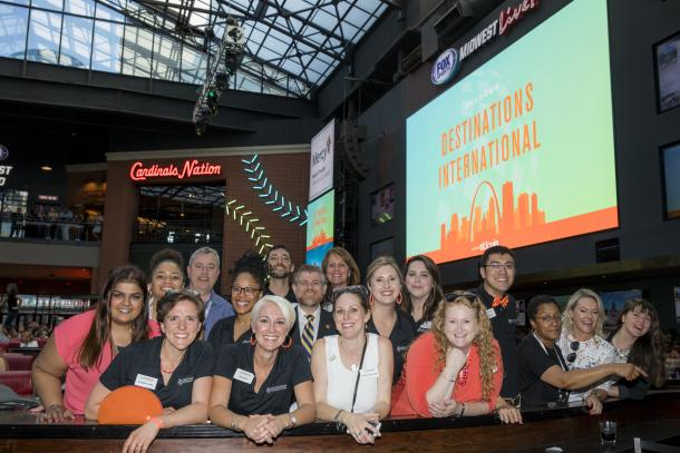 Destinations International staff photo from 2019 Annual Convention