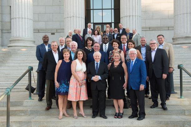 Former Chairs group photo