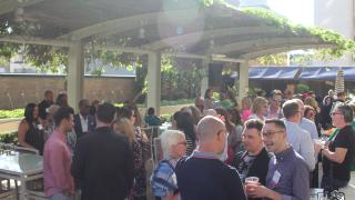 Opening reception at the 2019 CMO Summit